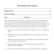 Appraisal Sheet Classy Self Review Template Delectable Appraisal Template Performance
