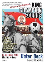 Munchen Poster King Champion Sounds