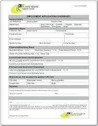 Generic Employment Application Form 10 Employment Application Form Templates Far Wake