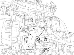 kia sorento starter removal starting system engine electrical remove the intake manifold stay a
