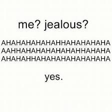 but not jealous | Tumblr via Relatably.com