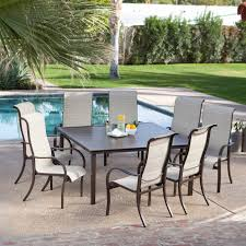 ideas of patio 8 person outdoor dining cast aluminum set metal patio from 8 patio furniture
