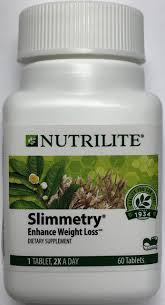 amazon nutrilite slimmetry enhance weight loss 60 tablets health personal care