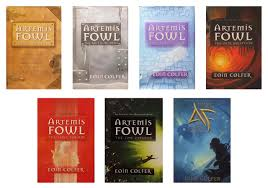 artemis fowl plete series set books 1 7 artemis fowl the arctic incident the eternity s code the opal deception the lost colony the time