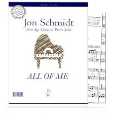 Piano sheet music for all of me, composed by jon schmidt for piano. All Of Me Sheet Music Jon Schmidt