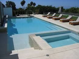 Creativity Modern Pool Designs Stamped Concrete Cost Convention Los Angeles Contemporary Throughout Design