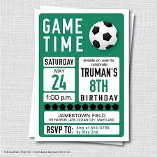 Soccer Party Invite Soccer Party Invitations Magdalene Project Org