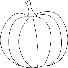 pumpkin drawing. pumpkin template printable free   simple - digital stamp grab drawing