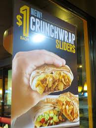 taco bell crunchwrap sliders. Wonderful Sliders Taco Bellu0027s New Crunchwrap Sliders On Bell Sliders H