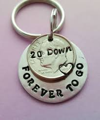 20th wedding anniversary gift for husband 20th anniversary gift idea 20 year wedding anniversary keychain 20th