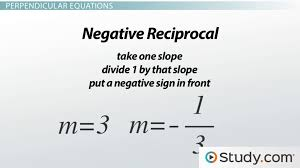 graphs of parallel and perpendicular lines in linear equations lesson transcript study com