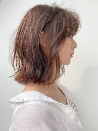 大人気外ハネボブを作るやり方パーマを紹介顔型別似合わせヘアも
