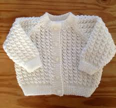 Free Baby Knitting Patterns Magnificent Lacey Baby Cardigan Free Knit Pattern Free Baby Knitting