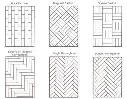 Floor Tile Layout Patterns Custom A Guide To Parquet Floors Patterns And More Hadley Court Project