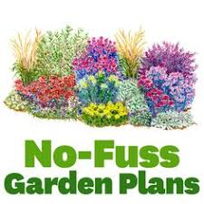 Small Picture No Fuss Garden Plans Gardens Garden planning and Yards