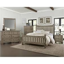Bedford - Washed Oak Bedroom Set Vaughan Bassett Furniture