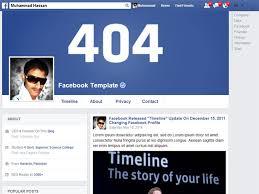 Facebook Profile A Free Premium Responsive Blogger Template