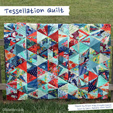 Tessellation Quilt Top Finished | Radiant Home Studio & Tessellation Quilt | Triangle Quilt | Alison Glass | Radiant Home Studio Adamdwight.com