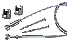 stainless steel cable railing hardware. Modren Cable Stainless Steel Cable Railing Kit With Hardware E