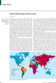 global epidemiology of tuberculosis the lancet first page of article tuberculosis