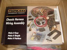 painless wiring com solidfonts 21 circuit pro street chassis harness w switch paneldetails