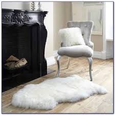 faux sheepskin rugs large
