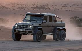 Mercedes-Benz G63 AMG 6×6 to Cost $600,000 in Germany - Truck Trend