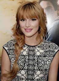 25 loose wavy side braid with bang and fringes