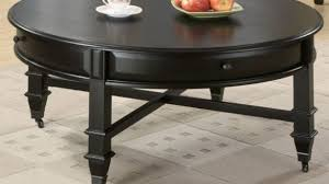 round black coffee table. Delighful Black Fancy Black Round Coffee Tables With Table  Regard To Drawers Ideas  Inside