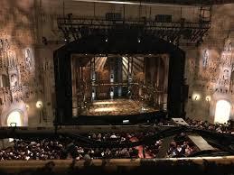 Hamilton Orpheum Seating Chart Orpheum Theatre San Francisco Section Balcony Lc Row A