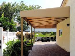 Patio Metal Awning Diy Outdoor Shade Canopy Inexpensive Ideas