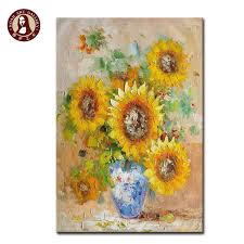 Image Mirror Famous Sunflower Paintings For Home Decor Dhgatecom Famous Sunflower Paintings For Home Decor Buy Famous Sunflower