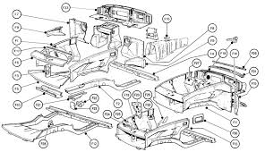 british motor heritage mgb front body parts list mgb front body exploded diagram