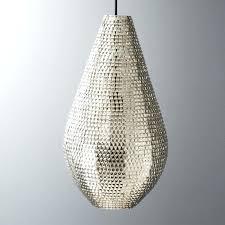 cb2 pendant light firefly lamp
