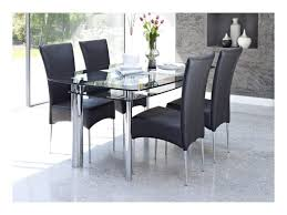 round glass dining room table and 4 chairs chair set sets for oak uk 8 g