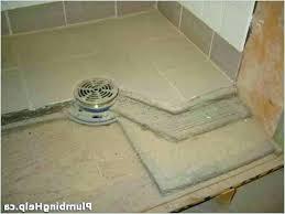 build shower pan pn scrtch ides ccrete slb diy base for rv build shower pan