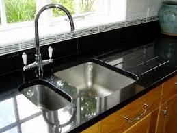 Kitchen Sinks Undermount Best Rectangular Black Granite Composite