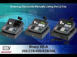 sharp xe a206. xe-a206/406/506, xe-a22s/42s: manual discounts [-] key duration: 1:14. total views: 1,956. rating: 1 / 5 based on reviews sharp xe a206
