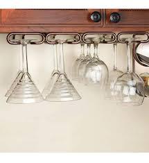 under cabinet wine glass rack photo 1 hanging stemware storage