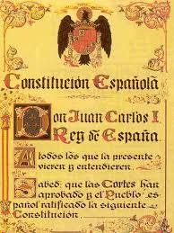 Resultado de imagen de constitución española 1978