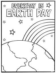 Small Picture Earth Day Coloring Pages at Children Books Online