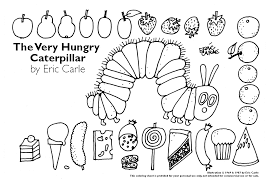 caterpillar coloring page. Interesting Page Coloring Page Very Hungry Caterpillar On Page E