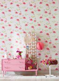 Little Girls Bedroom Wallpaper With A Love For All Things Fabulous And Fancy Felicity Flamingo