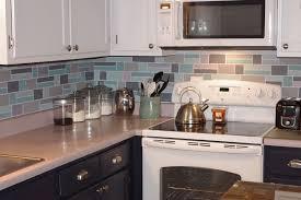 Kitchen Backsplash Wallpaper Exciting Painted Kitchen Backsplash Designs 75 With Additional