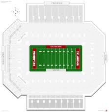 Oklahoma Memorial Stadium Oklahoma Seating Guide