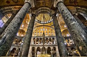Собор Святой Софии в Константинополе шедевр архитектуры Византии  храм святой софии в константинополе