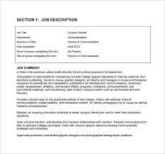 Communications Creative Director Job Description Free