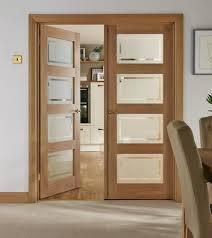oak doors with glass panels epic interior doors