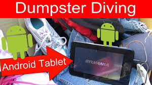 dumpster diving essay dumpster diving essay dumpster diving in  dumpster diving at thrift store 24 android tablet dumpster diving at thrift store 24 android tablet