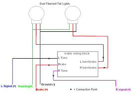 trailer tail light wiring diagram 4 wire trailer wiring diagram troubleshooting at Basic Tail Light Wiring Diagram